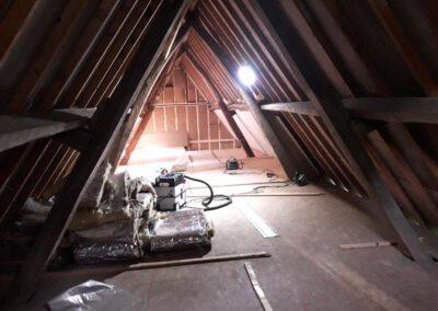 de koeberg - geitenstal - slaapkamer zolder 1